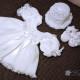 Rochita botez crosetata pentru fetite Clara